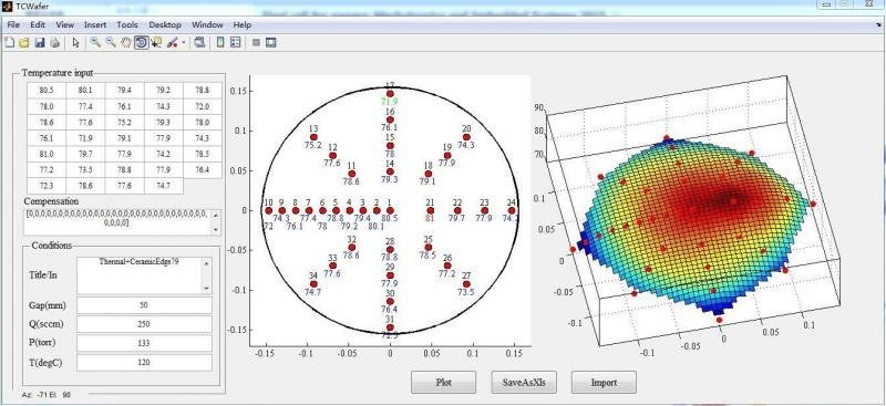 TC Wafer Calibration Software>TC Wafer>Semi-Conductor
